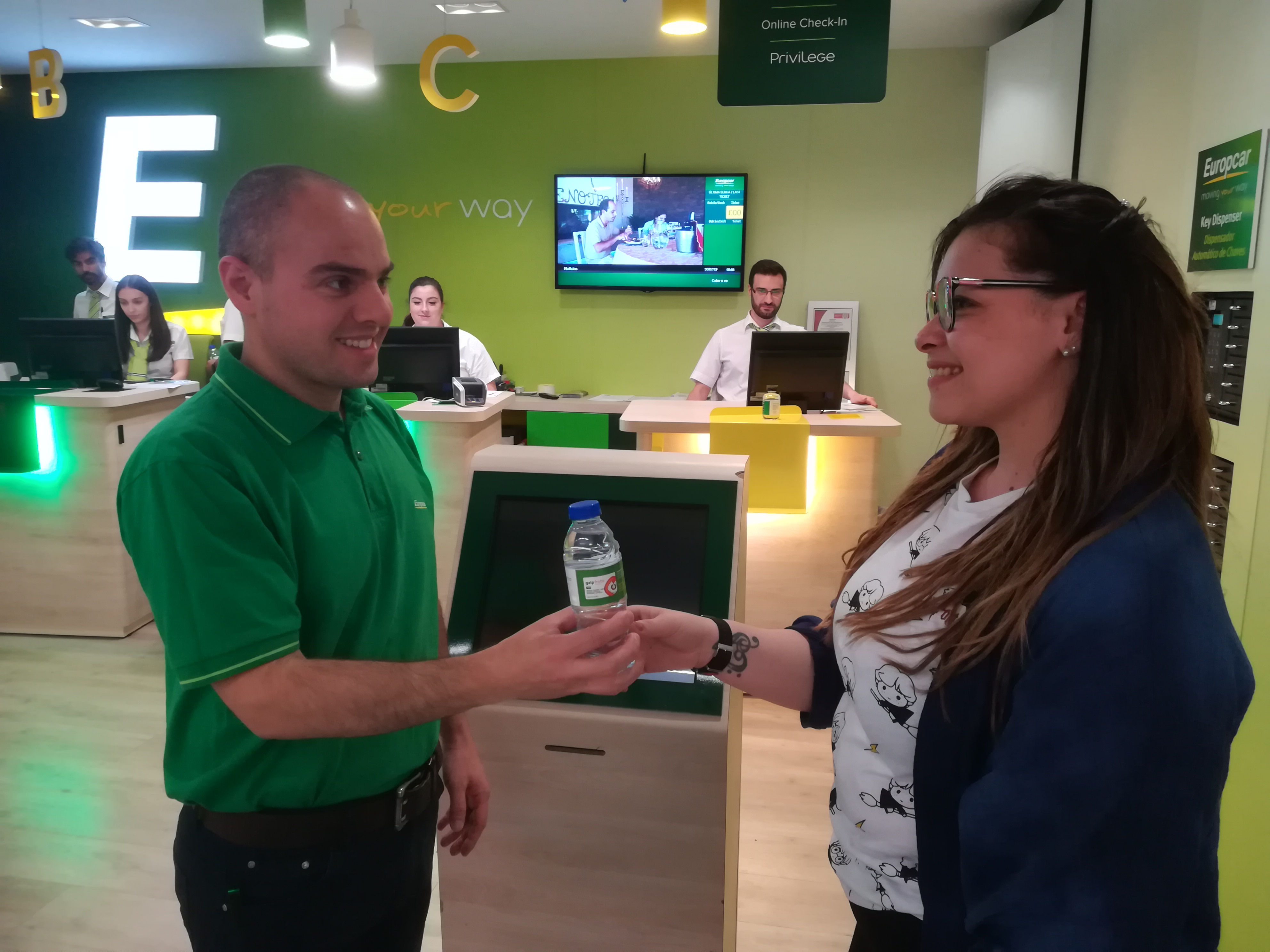 A Galp tem uma parceria com a Europcar!