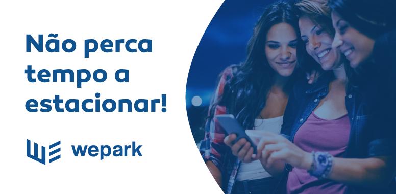 WePark: não perca mais tempo a estacionar