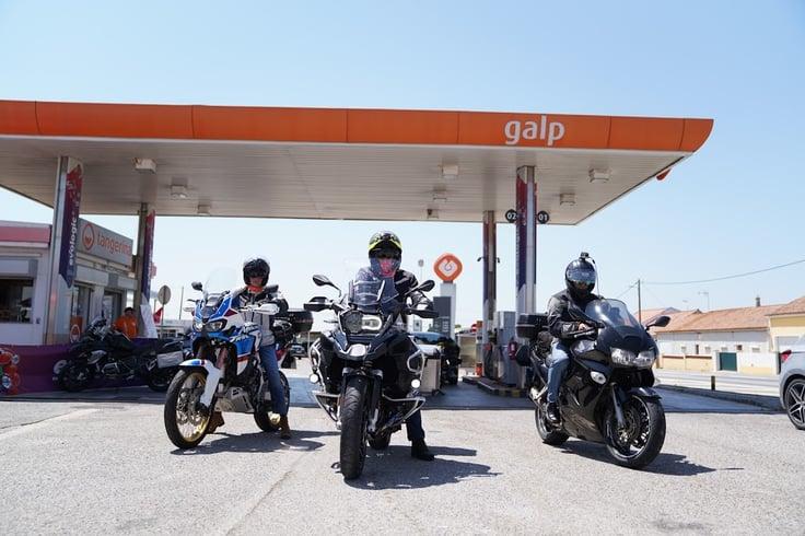 Galp apoiou os motociclistas rumo a Faro