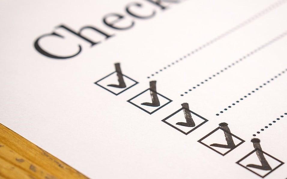 Já tem uma checklist de verificação de frota?