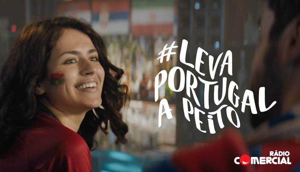 A Rádio Comercial também Leva Portugal a Peito!