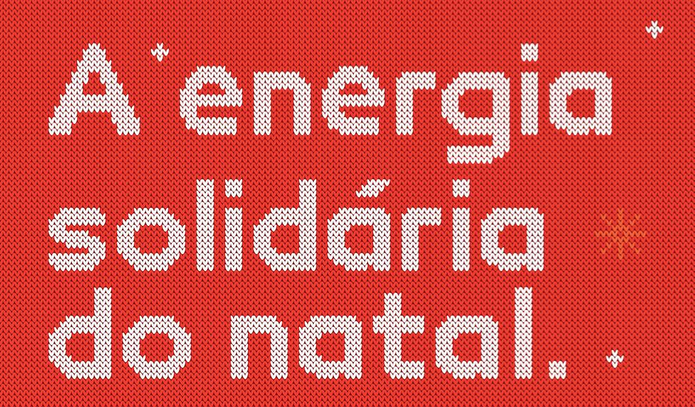 A Energia Solidária do Natal