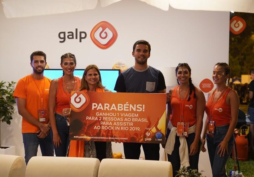 A Galp deu energia no Rock in Rio Celebration