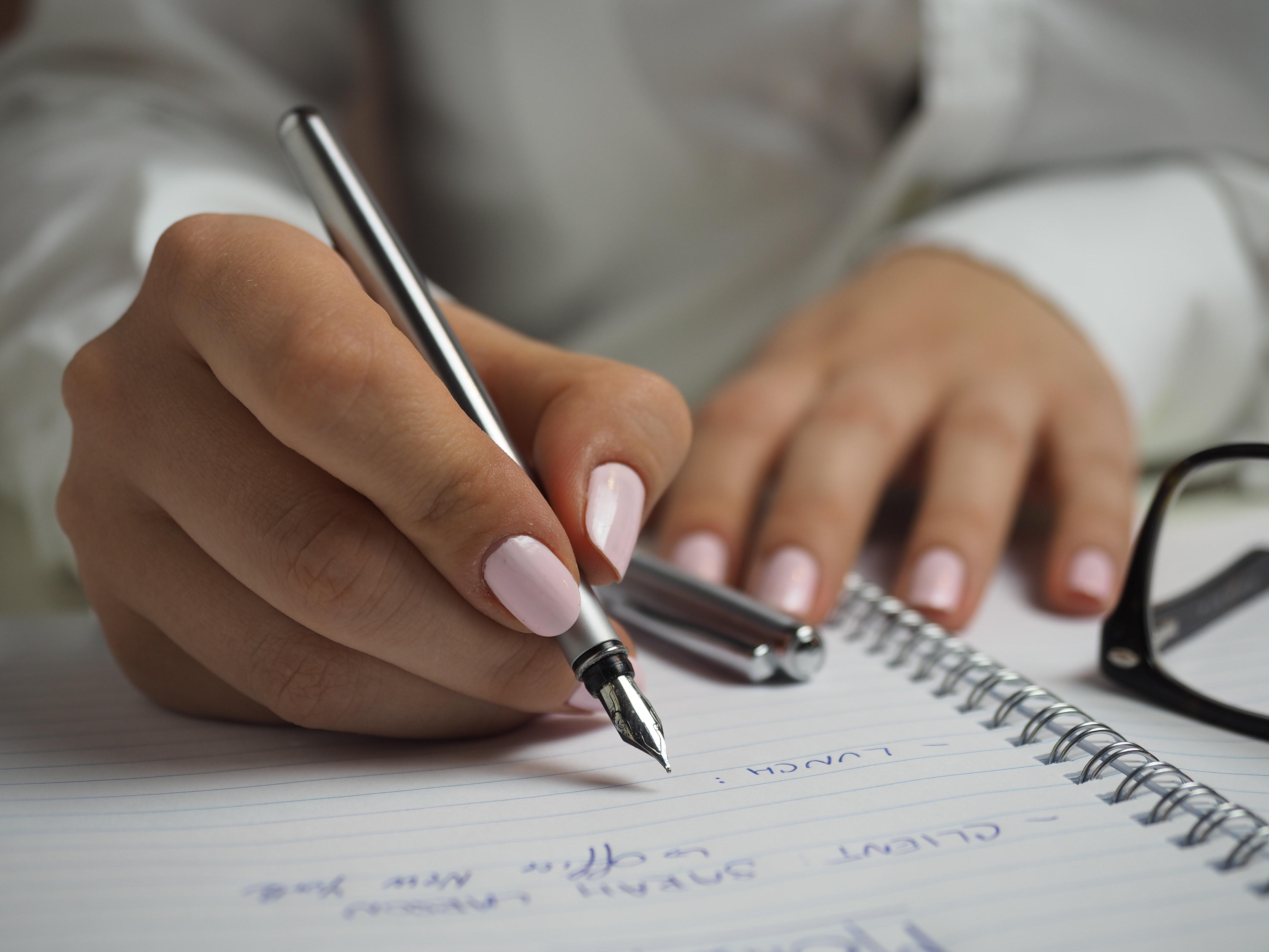 Quando foi a última vez que escreveu com lápis e papel?
