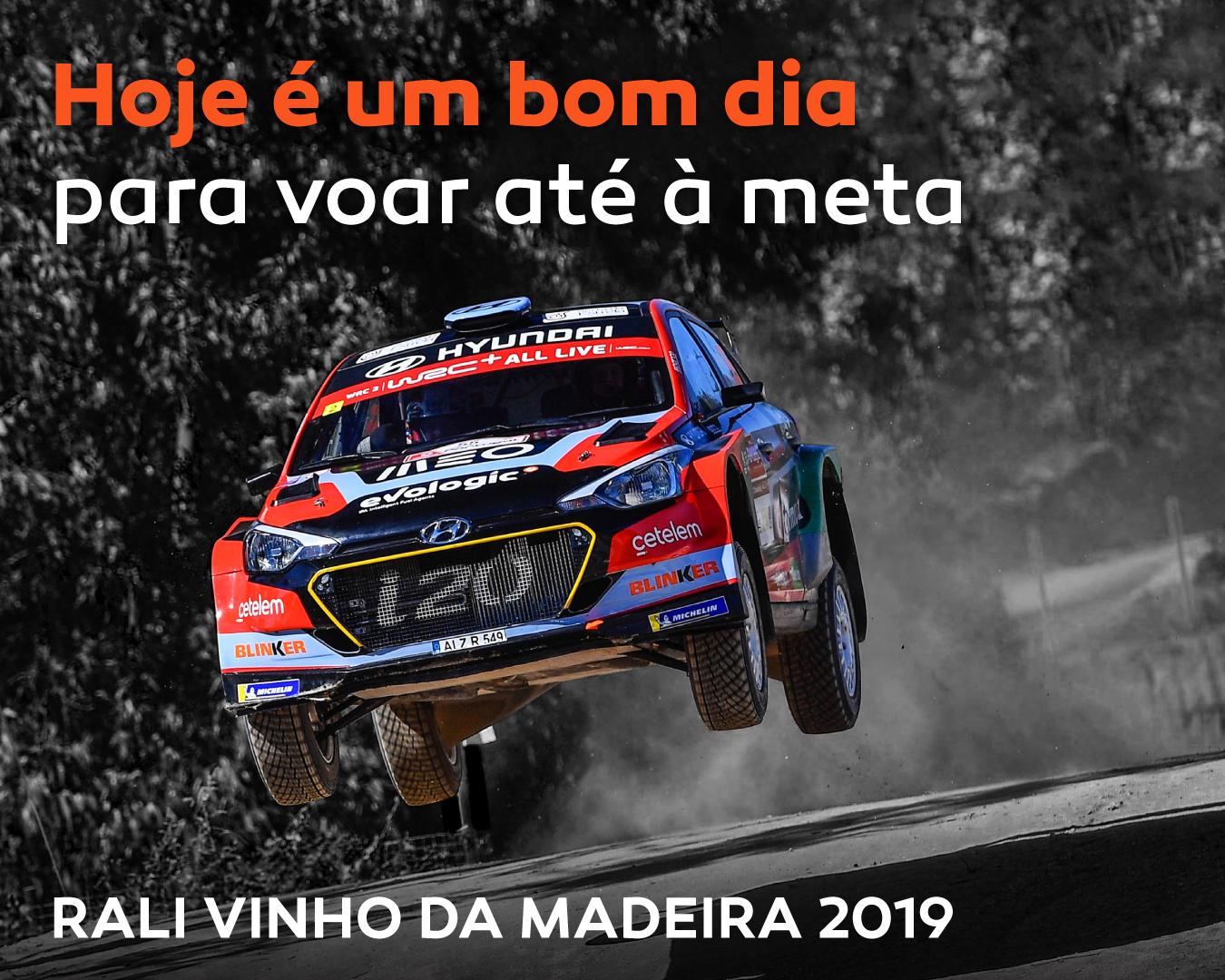 Armindo Araújo chegou ao Rali Vinho da Madeira