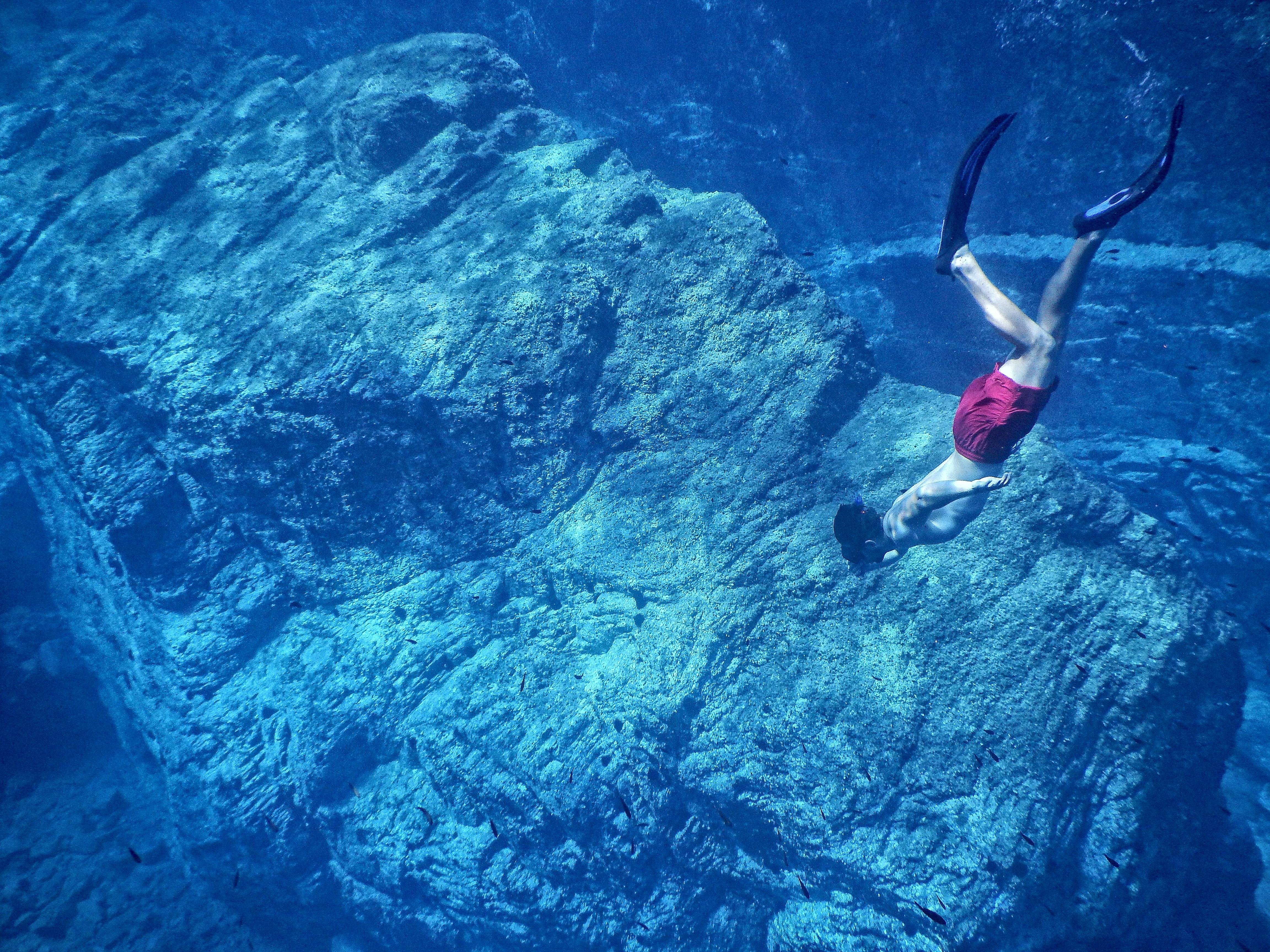 Subea's Easy Breath Full Face Snorkeling
