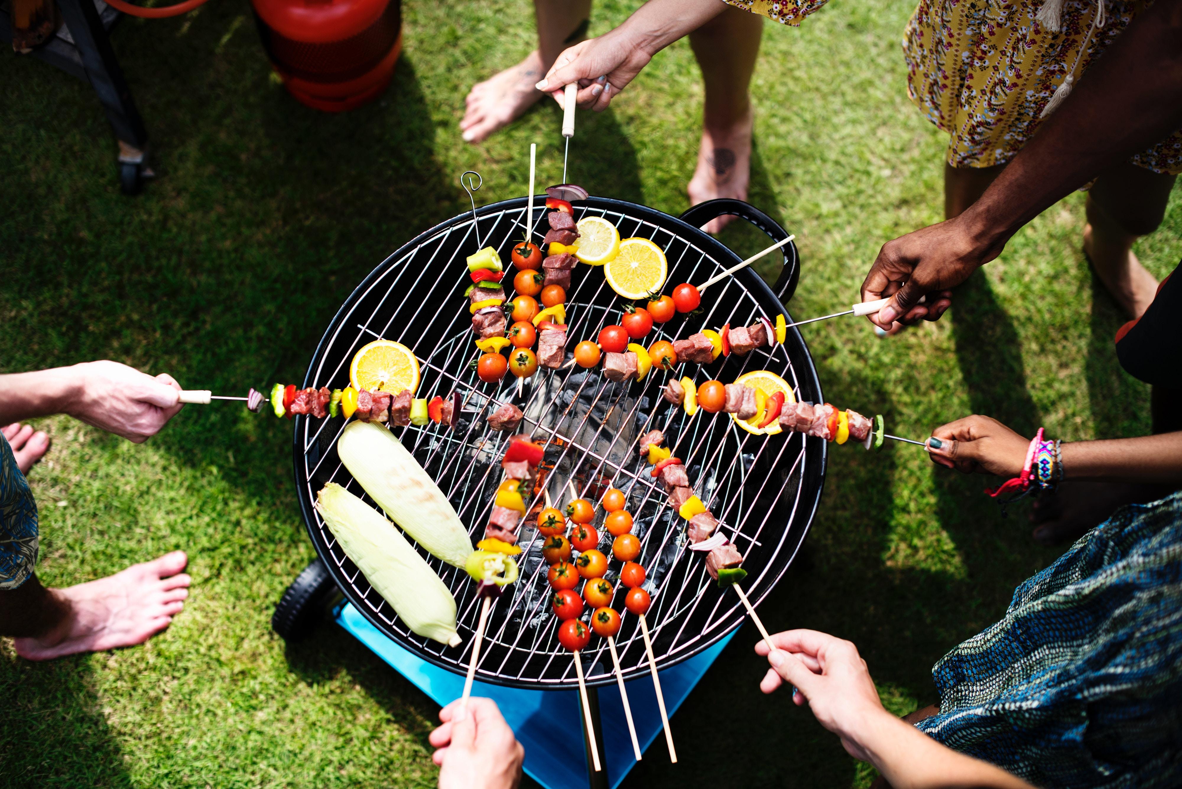 Grelhadores a gás para os melhores barbecues